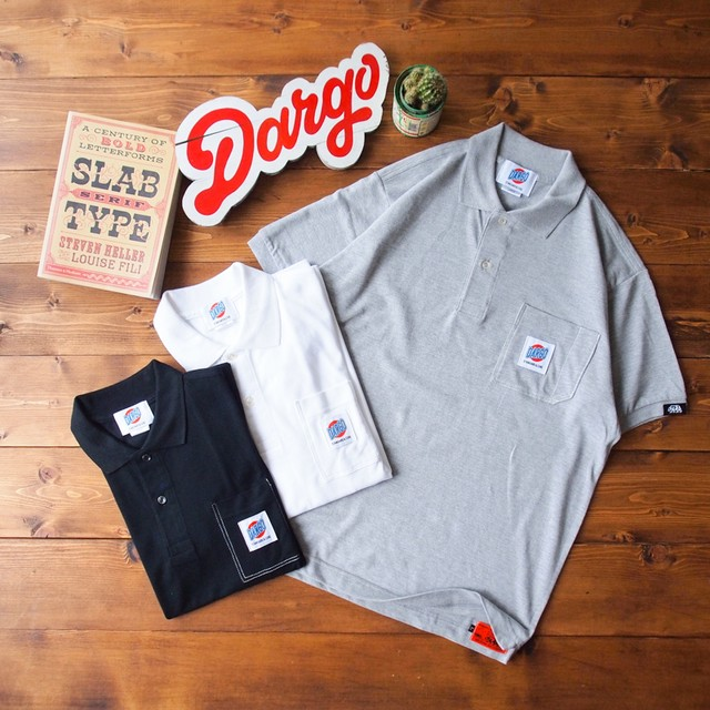 【DARGO】Working Pocket Polo Shirt (3color)