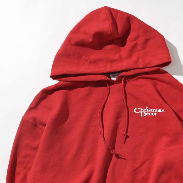 【XLサイズ】Christmas Decor クリスマスデコール Hoodie フーディー RED レッド XL 400605191005