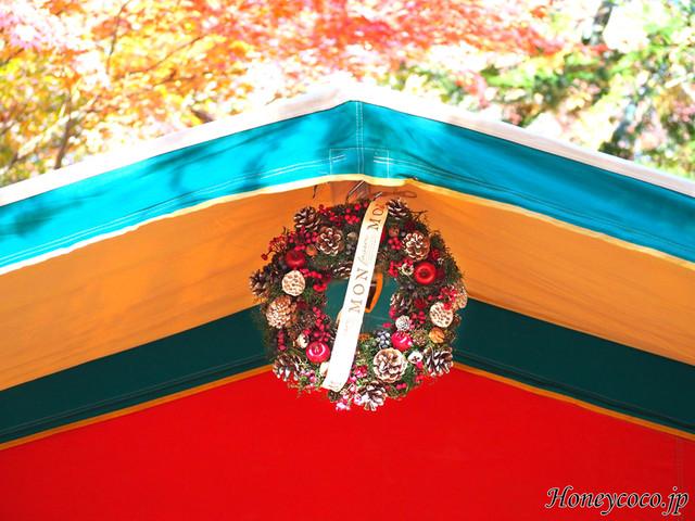 クリスマスナチュラルリース(Lサイズ)3種 おしゃれキャンプ