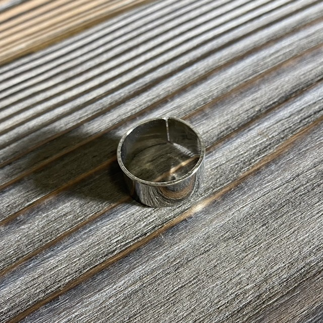 [used]silver ring