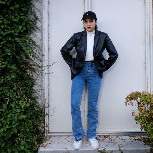 【Crudely Hommes】Liz's Slim Fit Jeans