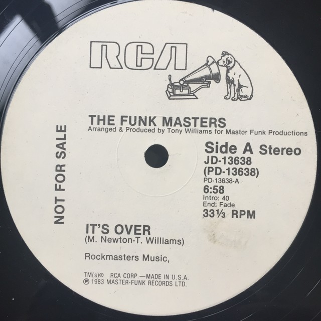 The Funk Masters ‎– It's Over
