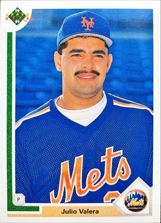 MLBカード 91UPPERDECK Julio Valeral #534 METS