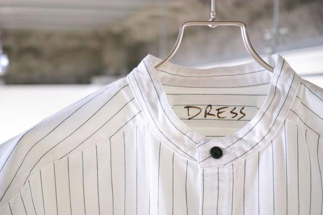 DRESS Nonstandard Shirt WHITE Size:F