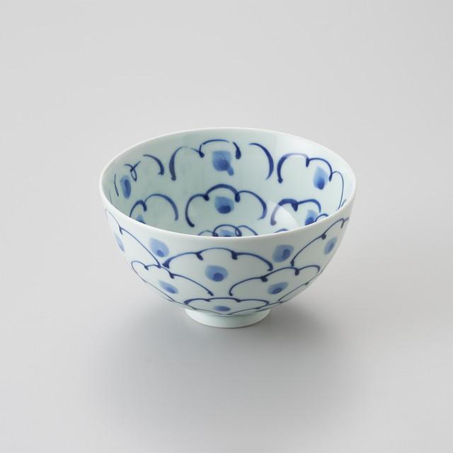 """【青花】""""Classic"""" 5寸深丼(牡丹)"""