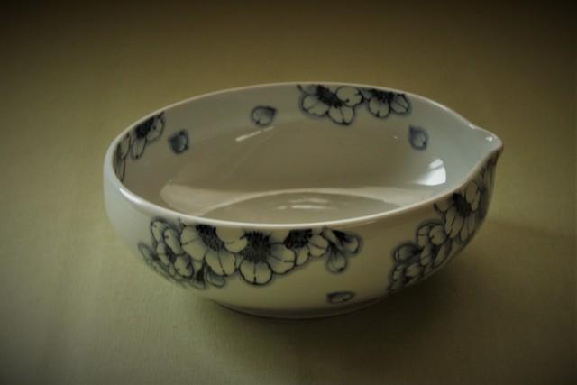 王冠桜6寸片口鉢
