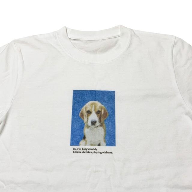 【Cat & Parfum】Katy's Dog Printed Long Sleeve