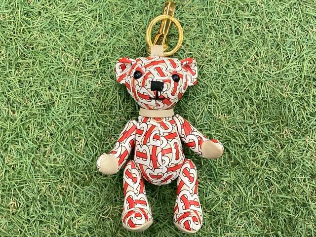 BURBERRY Thomas Bear TB MONOGRAM KEYCHAIN 25KB2783