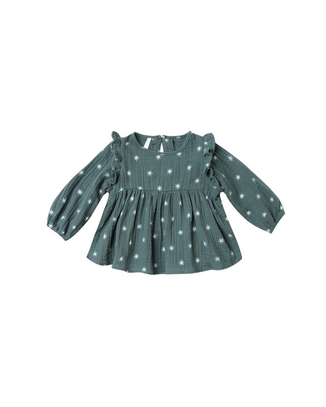 Rylee + Cru/northern star piper blouse