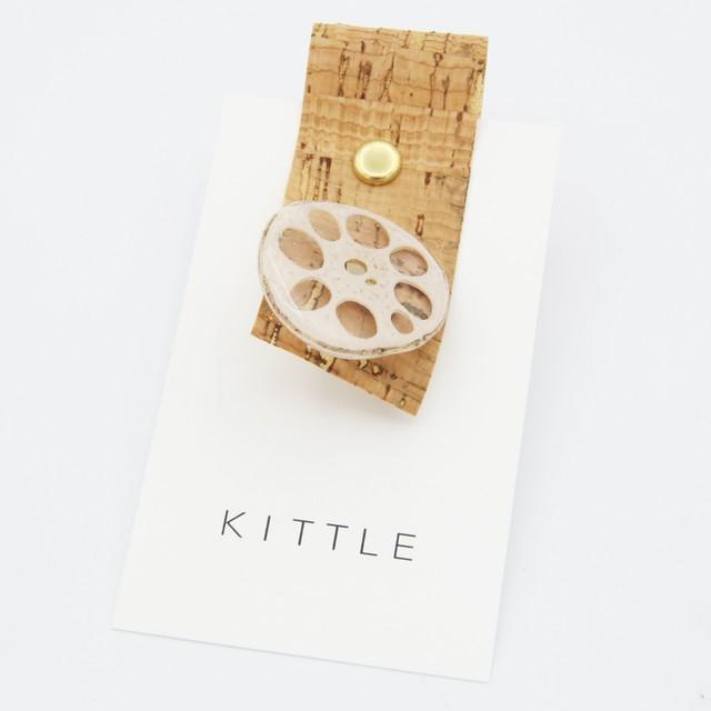 KITTLE/キトル/レンコンミニピンブローチ90