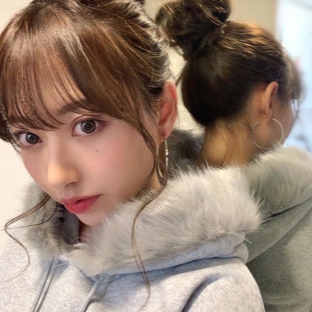 フードファー付き裏起毛グレーパーカー/M〜XXL/2019AW