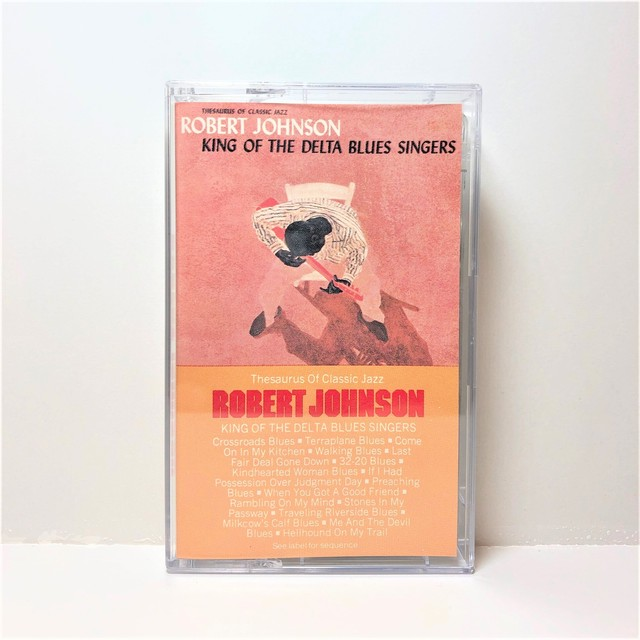 [中古カセット]  Robert Johnson ‎– King Of The Delta Blues Singers