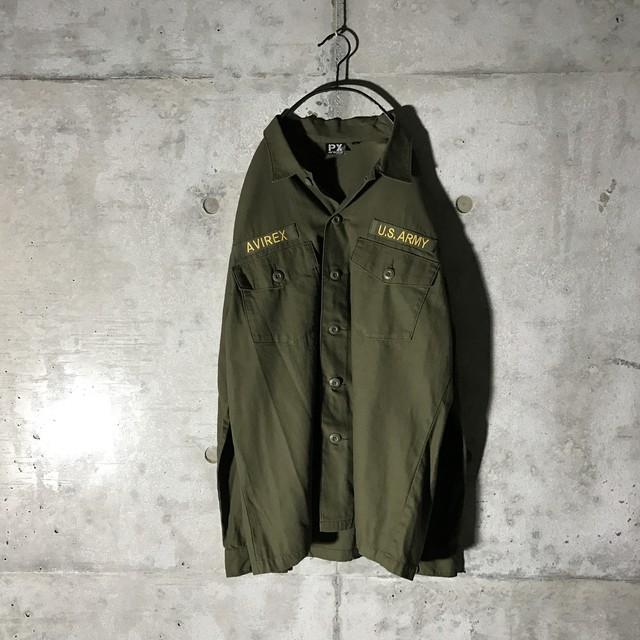 [AVIREX] U.S army military shirt