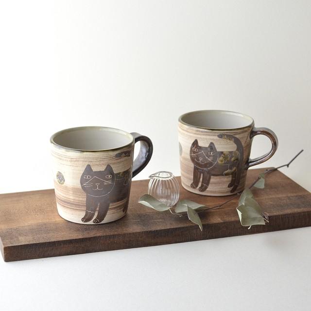 ハチワレネコ飯マカイ(茶碗) 小  2
