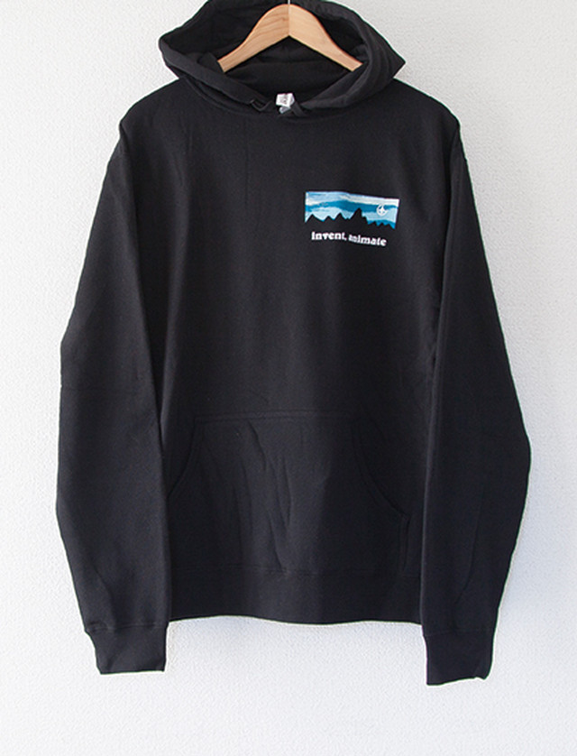 【INVENT, ANIMATE】Mountain Hoodie (Black)