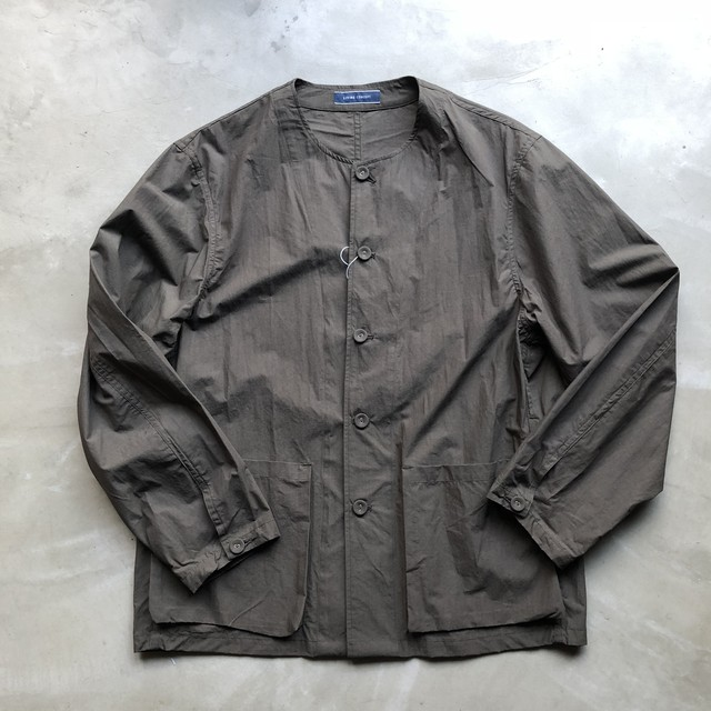LIVING CONCEPT / NO COLLAR SHIRT JACKET
