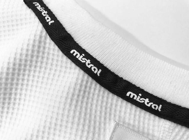 ミストラル ユニセックス【HP-DRY(ハイドロフォビックドライ)半袖Tシャツ -エムドット-】WHITE