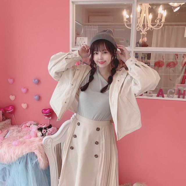 『Yurina着用モデル』春三点コーデ(アシメトップス)