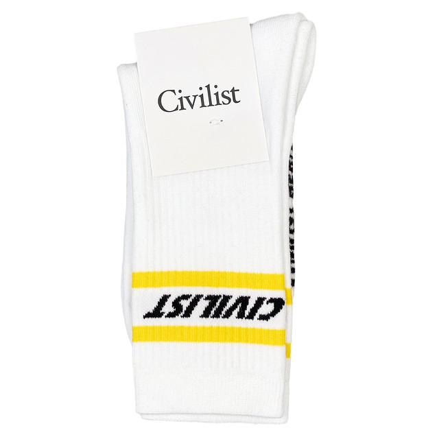 CIVILIST Fast Socks – White