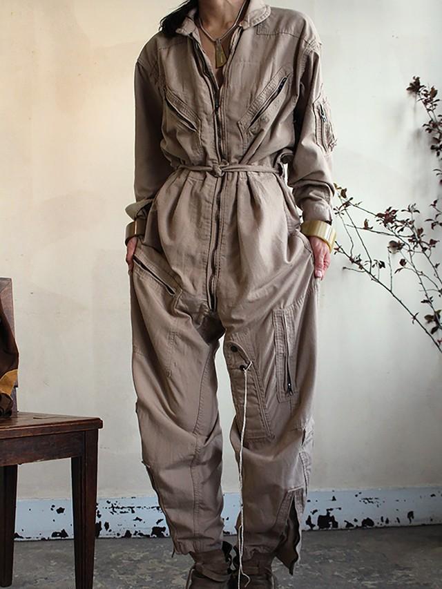 vinatge military jumpsuit