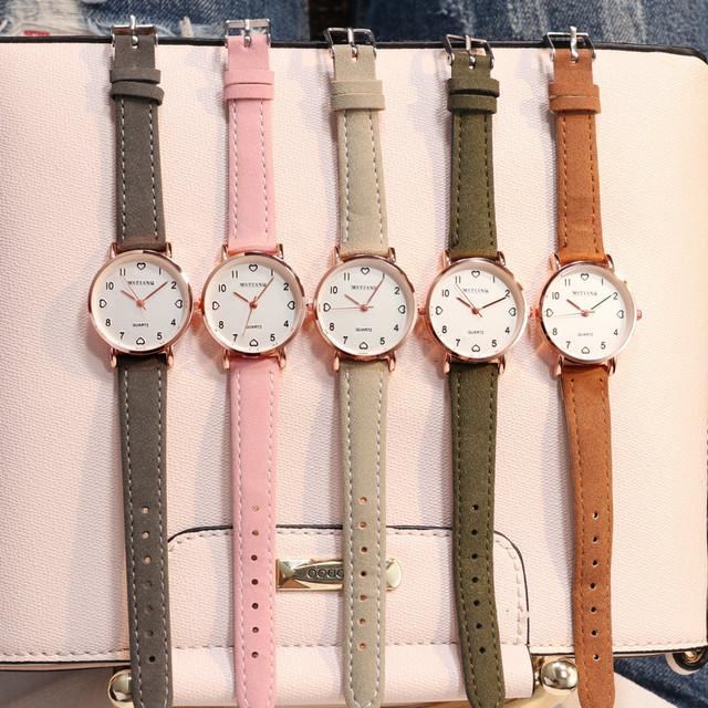 MSTIANQ シンプルレディース腕時計