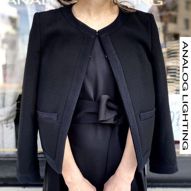 Formal Chanel Jacket/BLACK