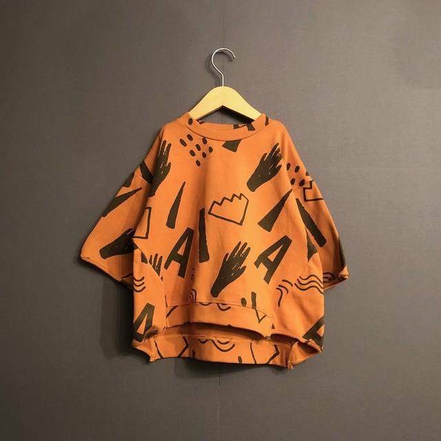 arkakama  20SS  20SS / SPD M/S sweatshirt(WASA)XL/XXL AKT00062