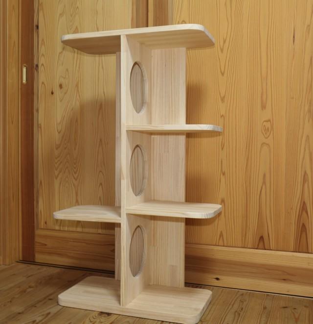 ★ 家具調・自立型キャットタワー  大きめのニャンコ向け ★