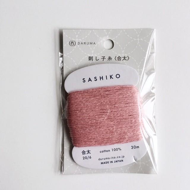 ダルマ刺し子糸<合太> カード巻 No.211 : SASHIKO Thick No.211