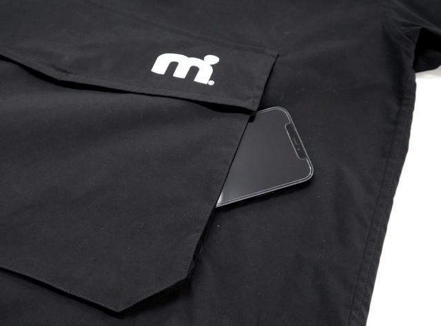 ミストラル メンズ [ トラディションプルオーバーブルゾン ] BLACK