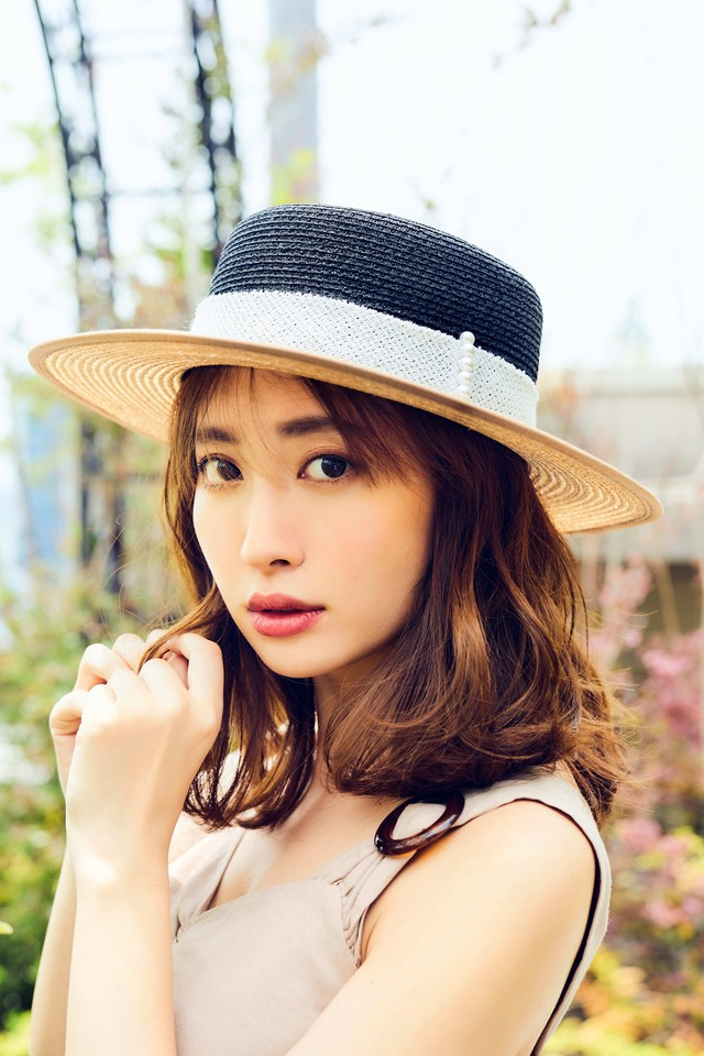 Chapeau d' O×Her lip to Two tone Canotier