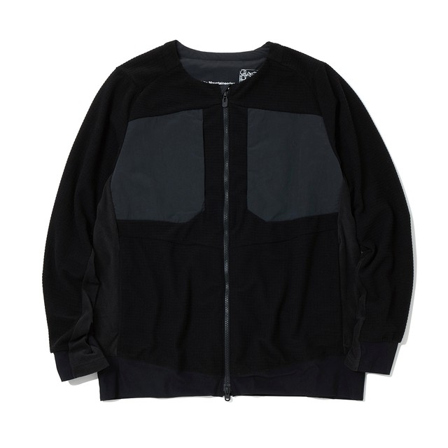 ZIPPED JACKET - BLACK