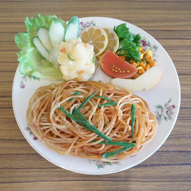 ナポリタンの食品サンプル(皿なし)