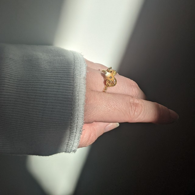 【goodafternine】 Sheep ring