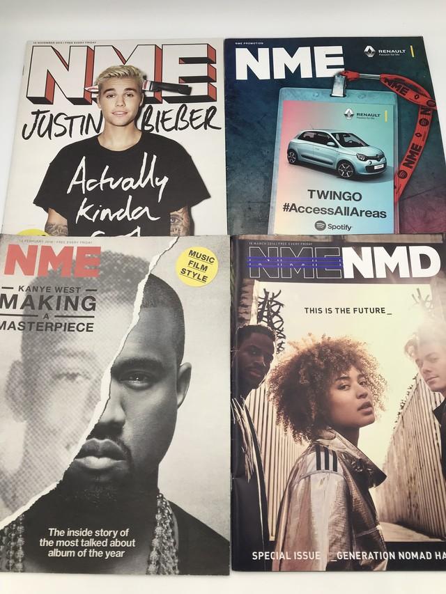 11冊セット (NME 10冊+TimeOut 1冊)