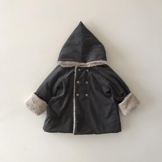 kobito coat : chic gray (100)