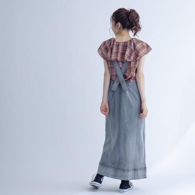 デニムジャンパースカート FLE51320