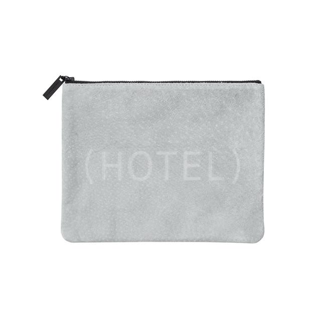 (HOTEL) Suede Poach