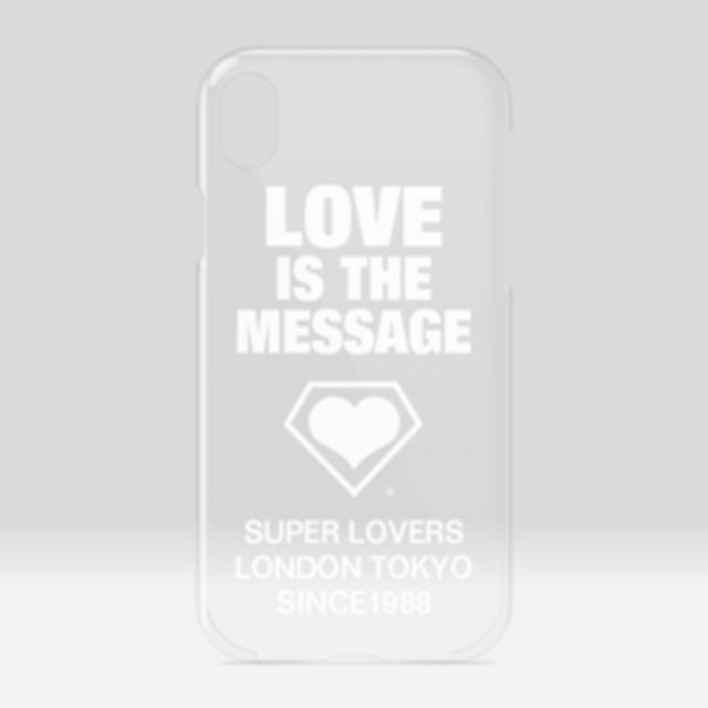 SUPERLOVERS love is the message/スーパーラヴァーズ アイホンケースXR