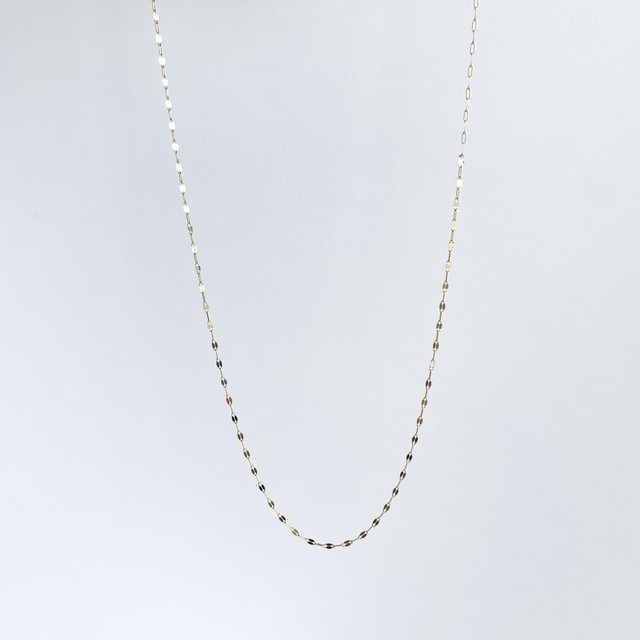 K10YG Design Chain Necklace / Shine