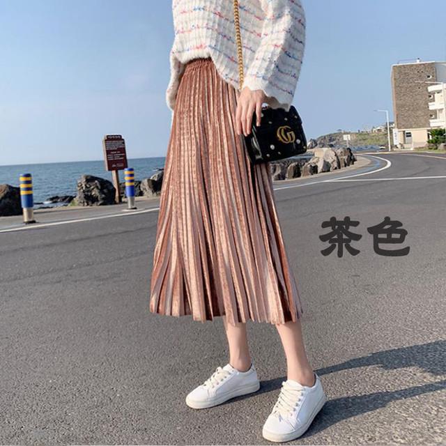 プリーツスカート N4002