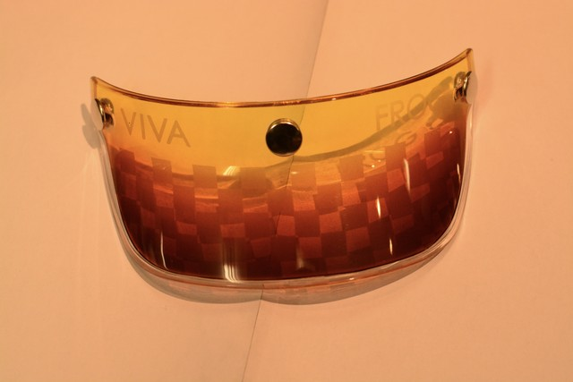 Frog-VIVA コラボ グラデーションペイント サンドブラストチェッカー カスタム