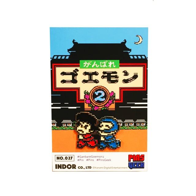 PINS GEEK がんばれゴエモン2 ゴエモン&エビス丸 / INDOR