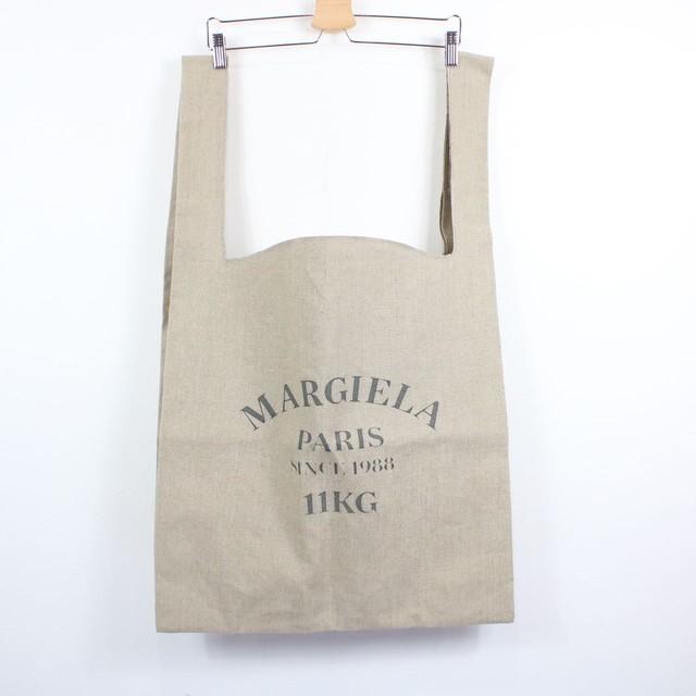 Maison Margiela / メゾンマルジェラ | 2020SSモデル | 11KGtotebagリネントートバッグ | ベージュ