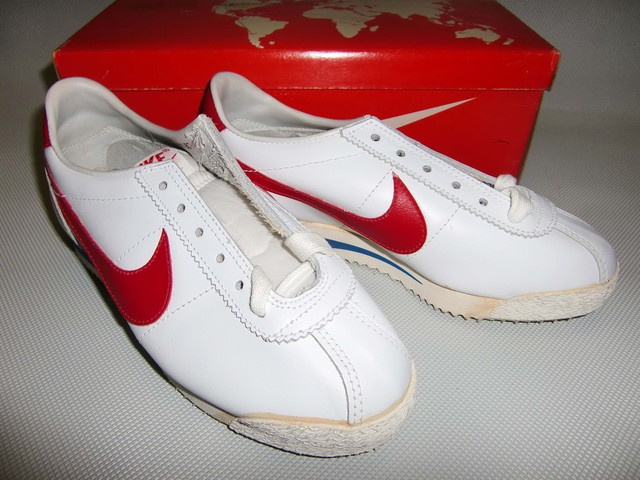 NIKE  LEATHER CORTEZ   W/R  1982  22.0cm  Dead Stock