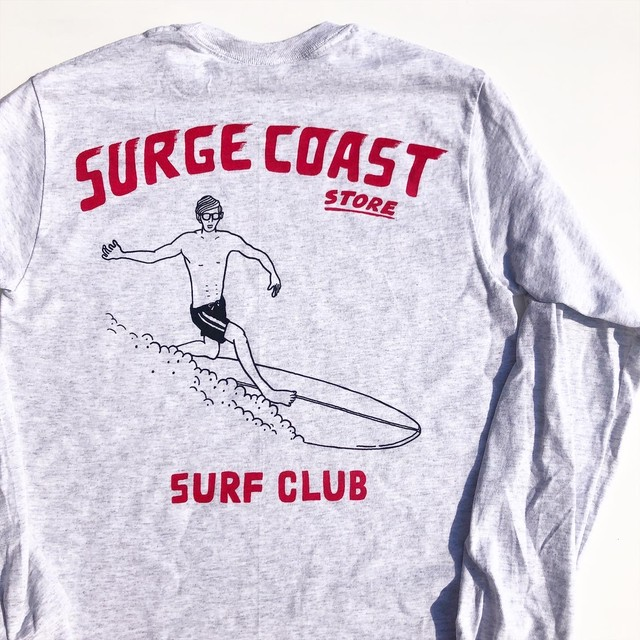 "Surge Coast Store ""Surf Club"" Long Sleeve Tee"