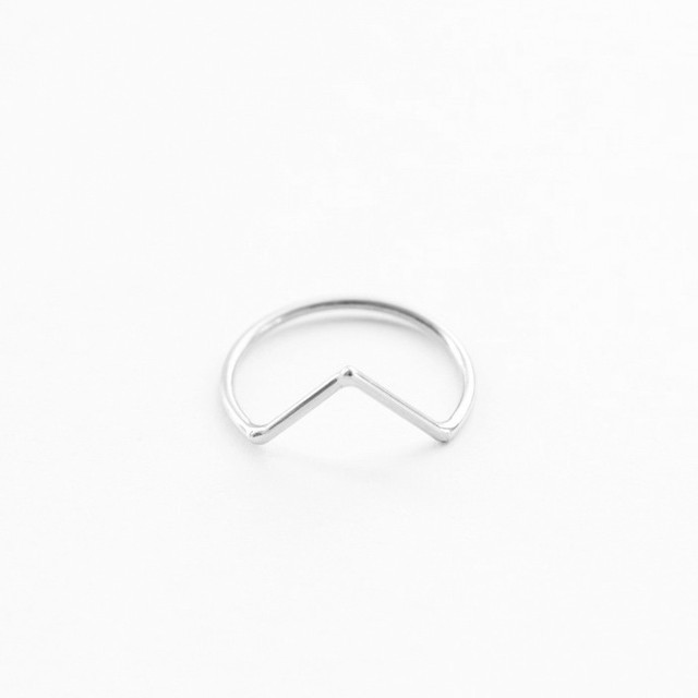 "【SALE ""アトリエ市""】ANOTHER FEATHER / DART RING SILVER"