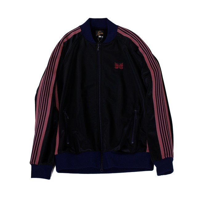 NEEDLES Track Jacket - Pe/ Ta Tricot Navy