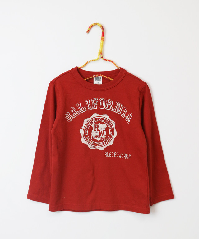 《made in Japan》 カレッジプリントロングT