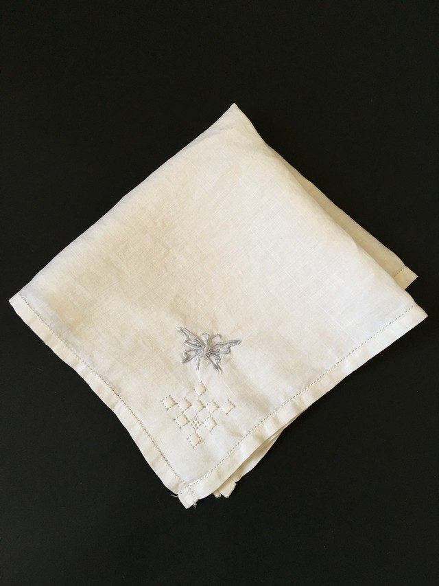 Old Embroidery Handkerchief